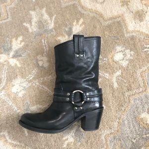 Frye Carmen Harness short boot, size 8.5